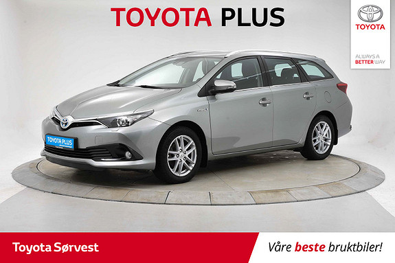 Toyota Auris Touring Sports 1,8 Hybrid Active  2017, 40 325 km, kr 209 000,-
