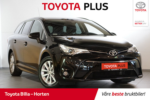 Toyota Avensis 1,6 D-4D Active Style  2016, 49872 km, kr 239000,-