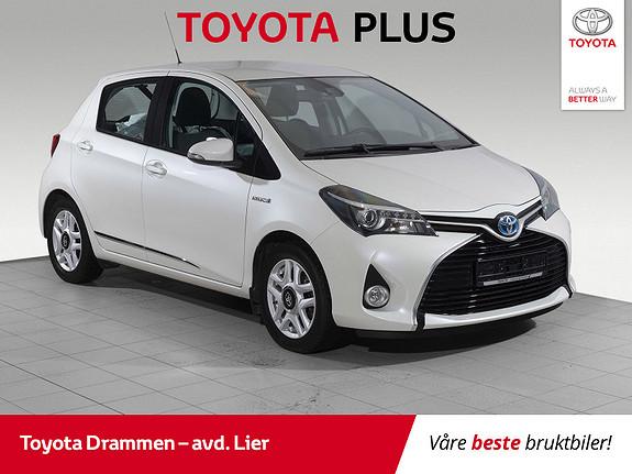 Toyota Yaris 1,5 Hybrid Active S e-CVT Navi, dab+, ryggekamera  2016, 26305 km, kr 169000,-