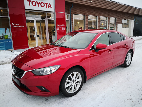 Mazda 6 2,2D 150hk Optimum  2013, 74531 km, kr 209000,-