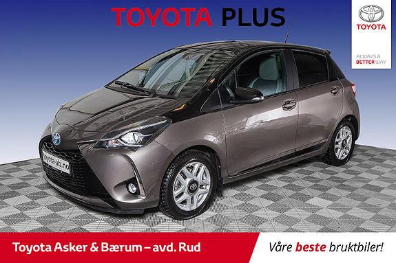 Toyota Yaris 1,5 Hybrid Bi Tone e-CVT aut  2018, 37879 km, kr 189000,-
