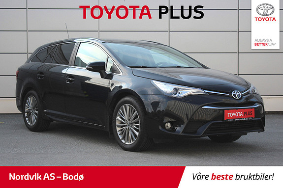 Toyota Avensis Touring Sports 1,8 Active Style M-drive 7S  2016, 56 197 km, kr 239 000,-
