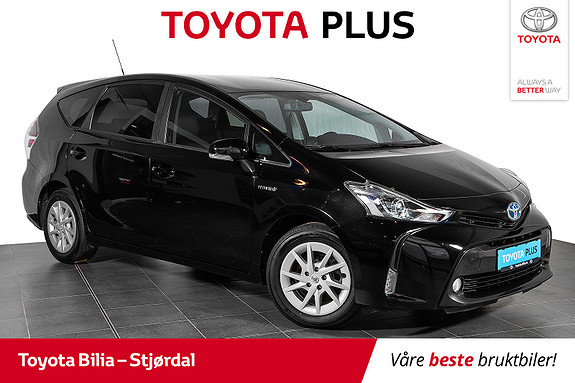 Toyota Prius+ Seven 1,8 VVT-i Hybrid Executive Topp utstyrt 7-seter  2018, 48130 km, kr 297000,-