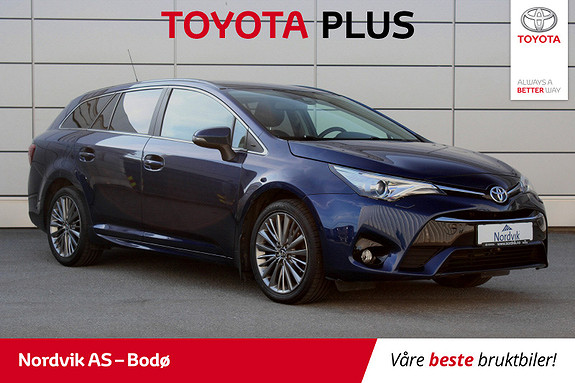 Toyota Avensis 1,8 Active Style Multidrive 7S  2016, 53 830 km, kr 239 000,-