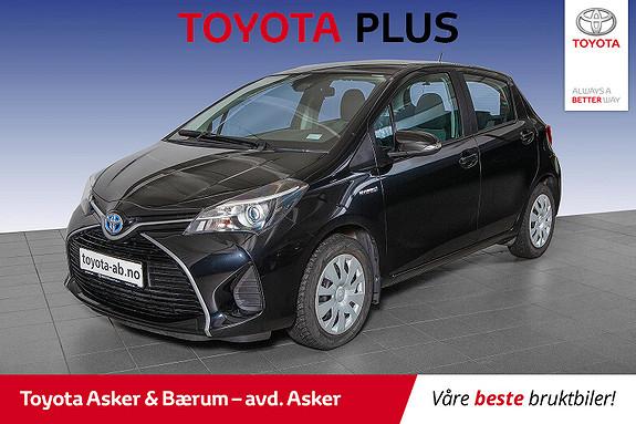 Toyota Yaris 1,5 Hybrid Active S e-CVT  2016, 44200 km, kr 157000,-