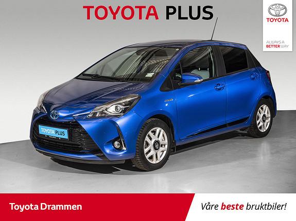 Toyota Yaris 1,5 Hybrid Active+ e-CVT aut  2018, 45030 km, kr 183000,-