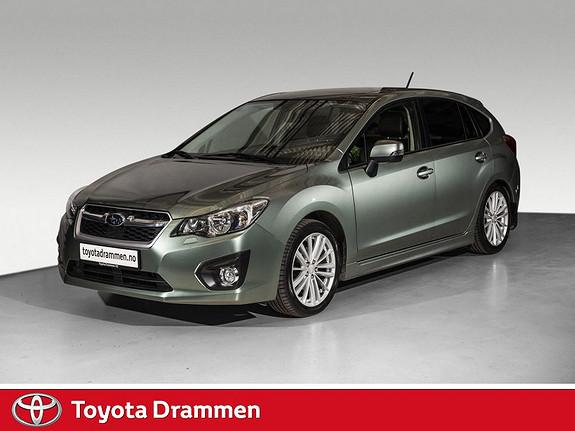 Subaru Impreza 1,6i Sport Premium Lineartronic  2014, 71175 km, kr 169000,-