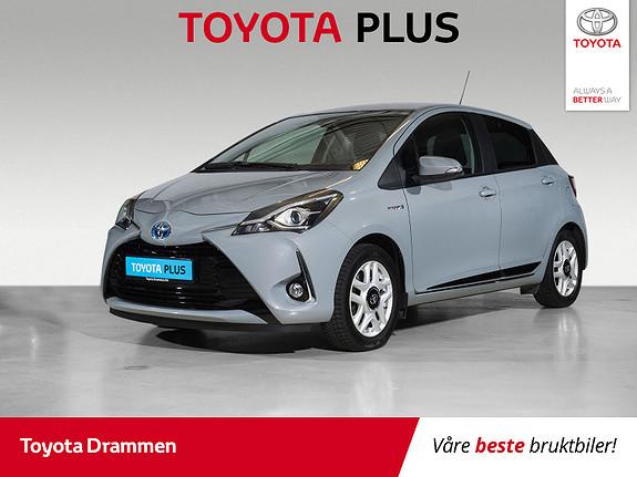 Toyota Yaris 1,5 Hybrid Active+ e-CVT aut  2018, 32310 km, kr 185000,-