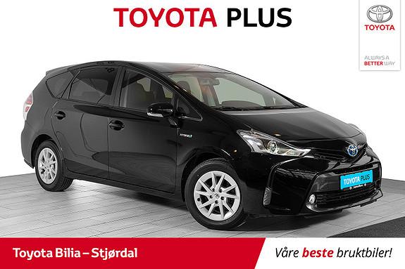 Toyota Prius+ Seven 1,8 VVT-i Hybrid Executive 7-seter, aut, skinnseter  2018, 39247 km, kr 299000,-
