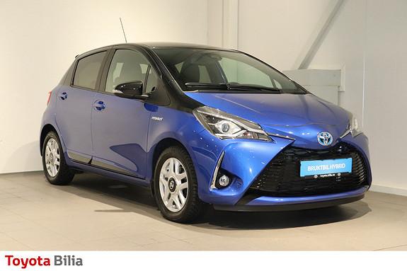 Toyota Yaris 1,5 Hybrid Bi Tone Blue e-CVT aut  2017, 14500 km, kr 199000,-