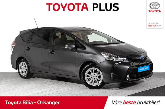 Toyota Prius+ Seven 1,8 VVT-i Hybrid Executive automat, 7-seter,  2018, 40813 km, kr 298000,-