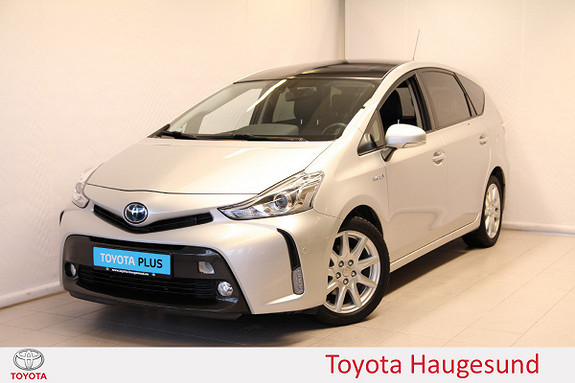 Toyota Prius+ Seven 1,8 VVT-i Hybrid Premium  2016, 53858 km, kr 279000,-