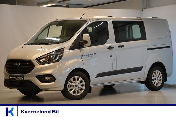 Ford Transit Custom 280 L1 2,0 TDCi 130hk Trend P.varmer, BLIS, H.feste++  2018, 1900 km, kr 354900,-