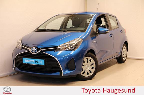 Toyota Yaris 1,5 Hybrid Active S e-CVT  2016, 23812 km, kr 169000,-