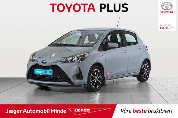 Toyota Yaris 1,5 Hybrid Active Go e-CVT aut  2018, 48500 km, kr 209000,-
