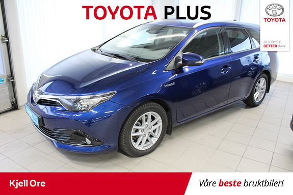 Toyota Auris Touring Sports 1,8 Hybrid Active Sport m/ DAB+, Navi  2018, 45364 km, kr 245000,-