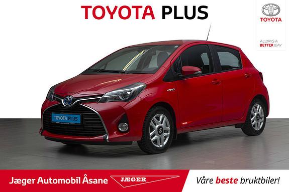 Toyota Yaris 1,5 Hybrid Active S e-CVT  2016, 74900 km, kr 159000,-