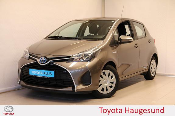 Toyota Yaris 1,5 Hybrid Active S e-CVT  2016, 43212 km, kr 165000,-