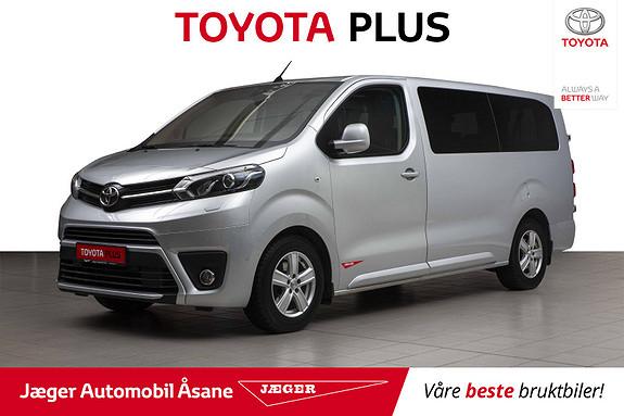 Toyota Proace Verso Lang 2,0D 177 Executive Shuttle aut  2018, 59500 km, kr 599000,-
