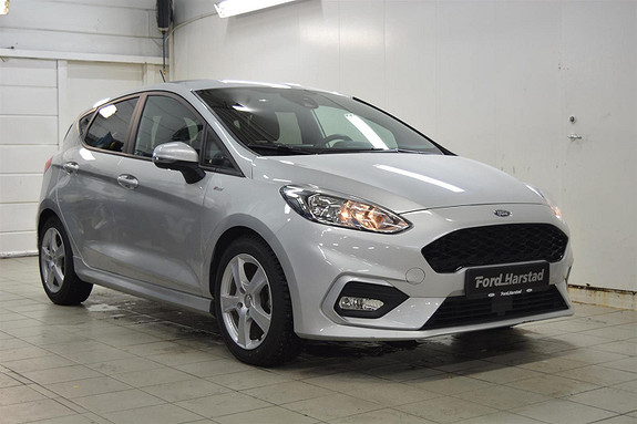 Ford Fiesta 1.0  ECOBOOST ST-LINE, RYGGEKAMERA, BLEUTOOTH, B&O PLAY  2018, 48 900 km, kr 179 000,-