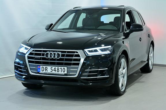 Audi Q5 190 HK TDI Q/S SPORT UTSTYRSBOMBE!  2018, 30000 km, kr 699000,-