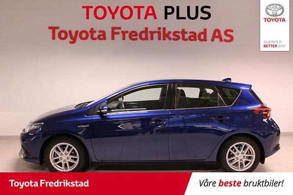 Toyota Auris 1,8 Hybrid E-CVT Active  2016, 42236 km, kr 199000,-