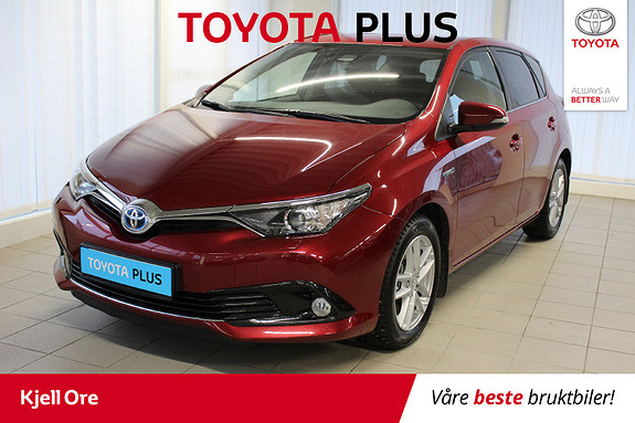Toyota Auris 1,8 Hybrid E-CVT Active Sport m/ Navi, DAB+  2018, 37229 km, kr 229000,-