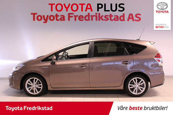 Toyota Prius+ Seven 1,8 VVT-i Hybrid Premium  2017, 36078 km, kr 269000,-