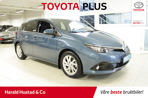 Toyota Auris 1,8 Hybrid E-CVT Active Sport SERVICEAVTALE 3 ÅR.  2018, 50000 km, kr 229000,-
