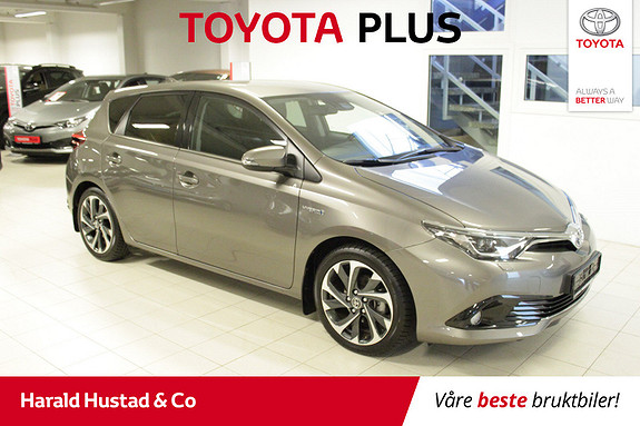 Toyota Auris 1,8 Hybrid E-CVT Style  2016, 18000 km, kr 209000,-