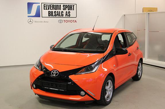 Toyota Aygo 1,0 5-d  2014, 38572 km, kr 89000,-