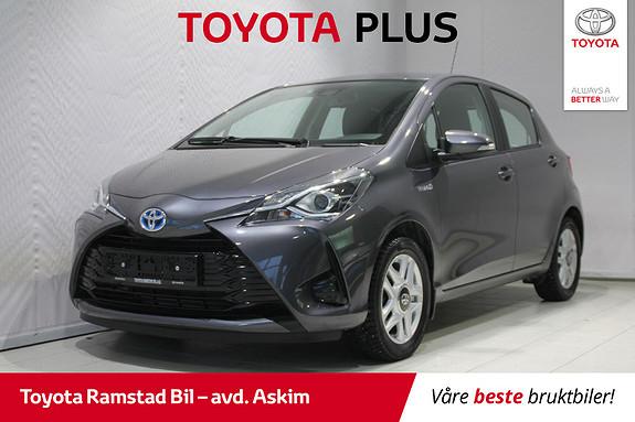 Toyota Yaris 1,5 Hybrid Active Go e-CVT aut  2018, 38665 km, kr 189000,-