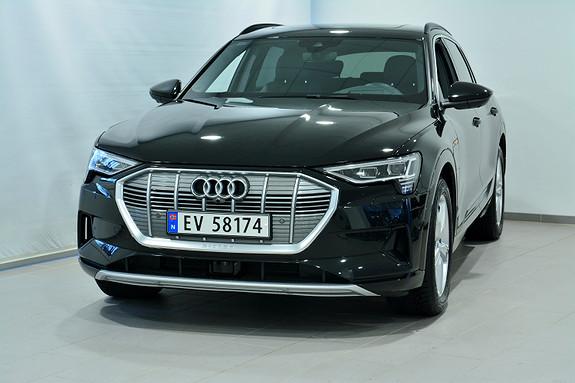 Audi e-tron 55 LIMITED MYTHOSSORT  2019, 14000 km, kr 799000,-