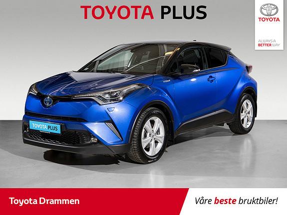 Toyota C-HR 1,8i Hybrid Lounge Tech  2018, 42930 km, kr 275000,-