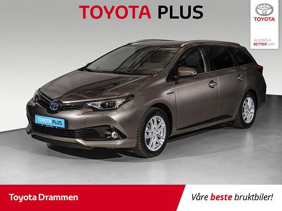 Toyota Auris Touring Sports 1,8 Hybrid Sport Vision  2018, 15 km, kr 269000,-