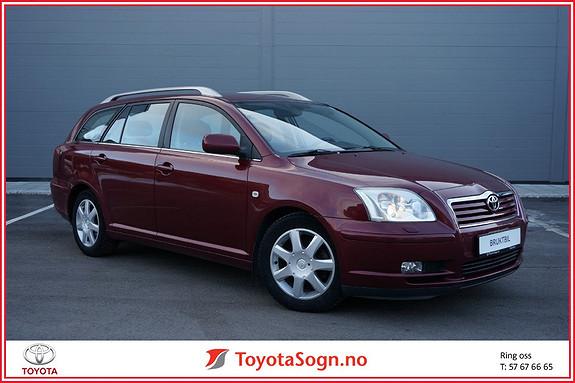 Toyota Avensis 1,8 Business Hengerfeste  2005, 163255 km, kr 49000,-