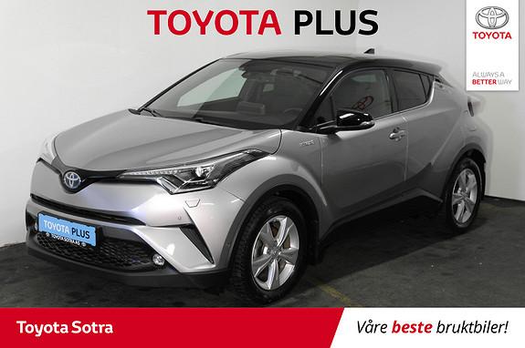 Toyota C-HR 1,8i Hybrid Lounge Tech  2018, 53081 km, kr 309000,-