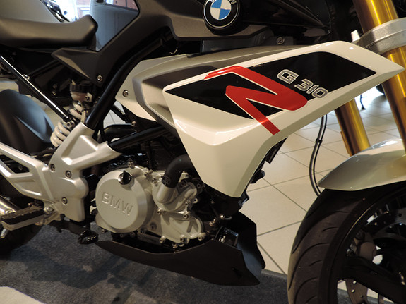 Bilbilde: BMW G 310 R  A2