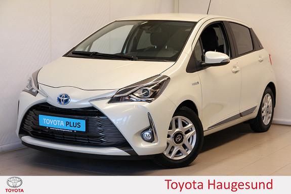 Toyota Yaris 1,5 Hybrid Y20+ e-CVT aut  2019, 3346 km, kr 219000,-