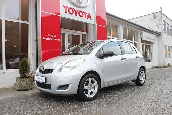 Toyota Yaris 1,33 VVT-i 6MMT, LAV KM, TECTYL  2010, 26500 km, kr 79900,-