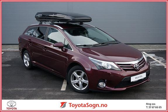 Toyota Avensis 2,0 D-4D 124hk Advance Hengerfeste, takboks  2012, 142447 km, kr 129000,-