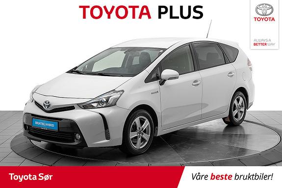 Toyota Prius+ Seven 1,8 VVT-i Hybrid Executive  2016, 43785 km, kr 269000,-