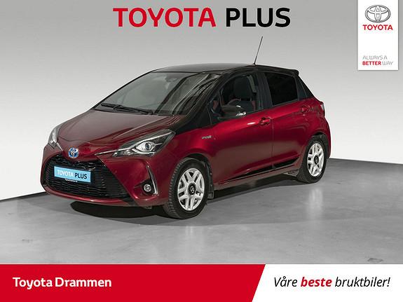 Toyota Yaris 1,5 Hybrid Bi Tone e-CVT aut  2018, 44750 km, kr 189000,-
