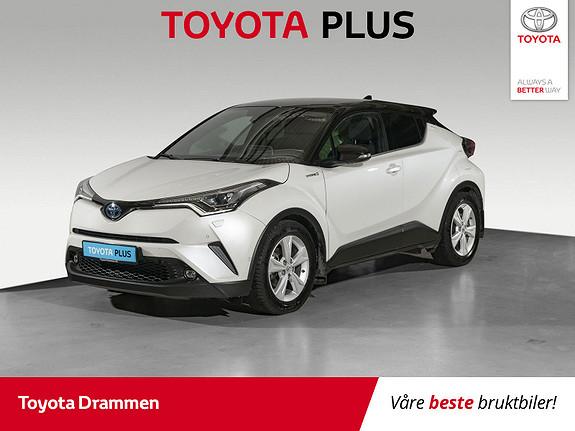 Toyota C-HR 1,8i Hybrid Lounge Tech  2018, 52115 km, kr 269000,-