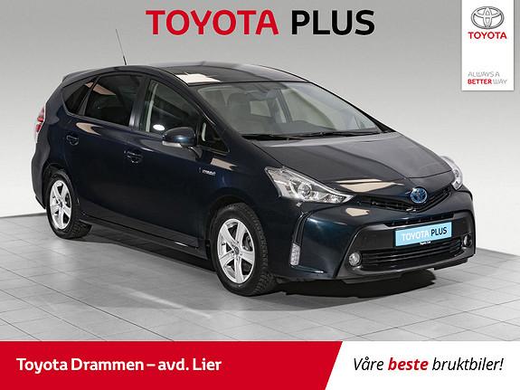 Toyota Prius+ Seven 1,8 VVT-i Hybrid Executive Skyview  2017, 40000 km, kr 299000,-