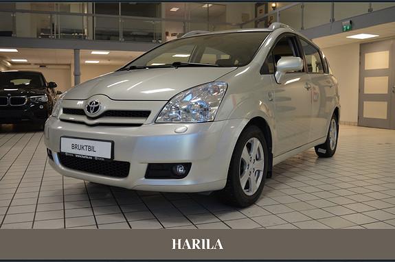 Toyota Corolla Verso 1,8 Sol Selges som den står uten garanti.  2005, 200500 km, kr 49000,-