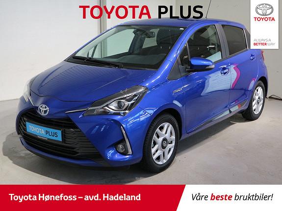 Toyota Yaris 1,5 Hybrid Y20+ e-CVT aut  2019, 17100 km, kr 189000,-
