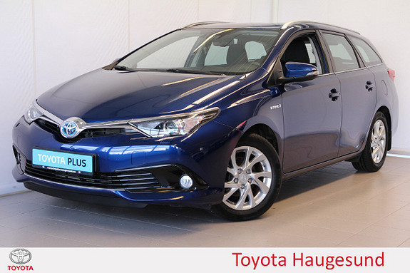 Toyota Auris Touring Sports 1,8 Hybrid Active  2018, 44 656 km, kr 249 000,-
