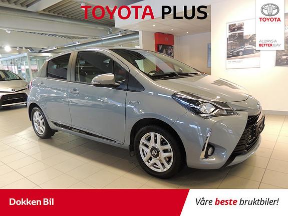 Toyota Yaris 1,5 Hybrid Active+ e-CVT aut  2018, 24259 km, kr 189000,-