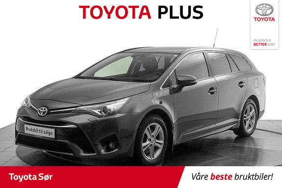Toyota Avensis Touring Sports 1,6 D-4D Active Style m/hengerfeste  2016, 93 923 km, kr 195 000,-